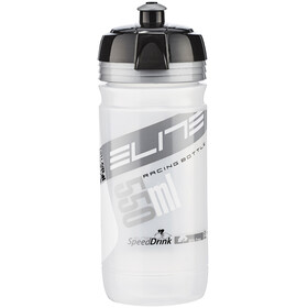 Elite Corsa Vannflaske 550 ml Transparent/sølv